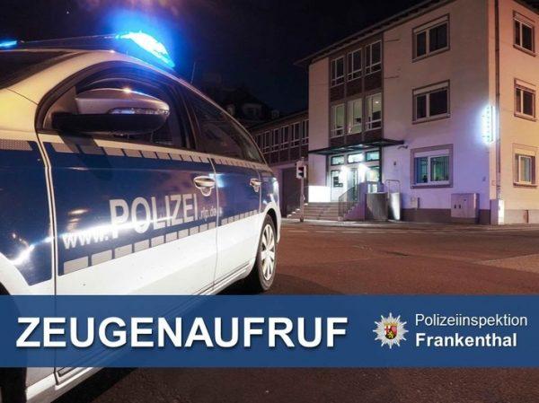 Frankenthal – Werkzeug aus Auto gestohlen – 2.500 Euro Schaden