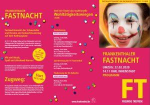 Frankenthal –  Vorläufige Bilanz der Polizei zu den Fastnachtsumzügen in Frankenthal und Birkenheide