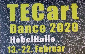 Heidelberg – Festival TECart Dance 2020 für Medienkunst und Tanz aktuell in der Hebelhalle (Video)
