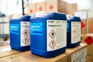 """Ludwigshafen – """"Helping Hands"""": BASF weitet Belieferung mit Hand-Desinfektionsmittel schrittweise auf weitere Bereiche des Gesundheitswesens in der Metropolregion Rhein-Neckar aus"""