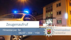 Maxdorf – Verkehrsunfallflucht – Schwarzer SUV gesucht