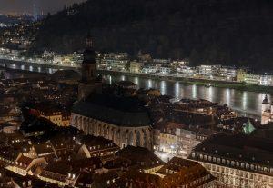 Heidelberg – Zeichen für den Klimaschutz: eine Stunde ohne Licht! Heidelberg beteiligte sich wieder an der ,,WWF-Earth Hour''
