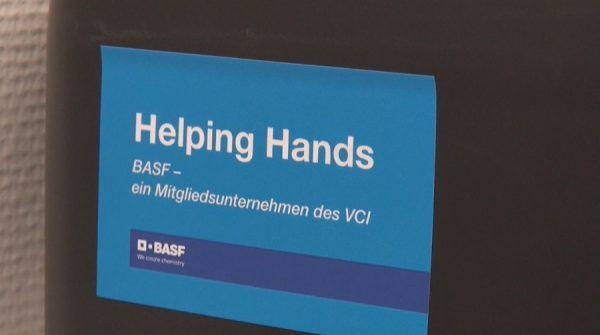 """Ludwigshafen – Coronavirus – Aktion """"Helping Hands"""" ausgeweitet: BASF SE und BASF Stiftung setzen Programme für Bedürftige sowie für Helfer-Initiativen auf"""