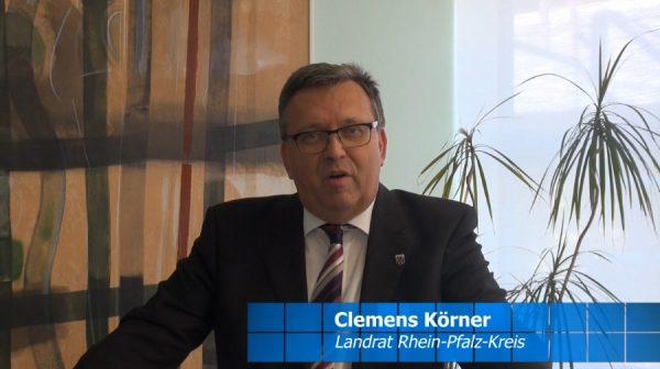 Rhein-Pfalz-Kreis – Osteransprache und Appell an die Bürger von Landrat Clemens Körner