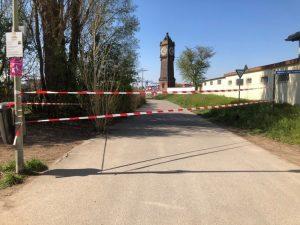 Ludwigshafen – Stadtpark auf der Parkinsel und Ebertpark für Besucher gesperrt