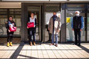 """Heidelberg – """"Orientierung und Unterstützung in schwieriger Zeit"""" – Oberbürgermeister Würzner dankt Stadtteilmanagement Emmertsgrund und weiteren Einrichtungen"""