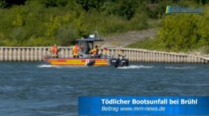 Mannheim – Schrecklicher Bootsunfall bei Brühl – Video