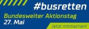 Ludwigshafen – Bundesweiter #Aktionstag zur Rettung der Busunternehmen am 27. Mai 2020