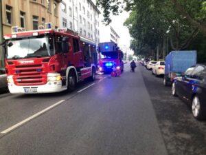 Ludwigshafen – Erstmeldung: Brand in der Bürgermeister-Grünzweig-Straße
