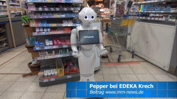 Ludwigshafen – Pepper the Robot zu Gast bei EDEKA Krech