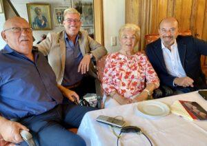 Speyer – SPD Speyer gratulierte Margarete Boiselle-Vogler