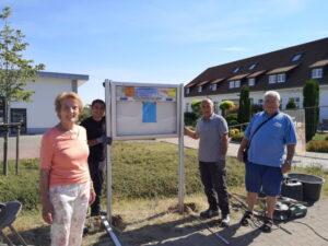 Neustadt an der Weinstraße – Neuer Infokasten VdK Lachen-Speyerdorf-Duttweiler