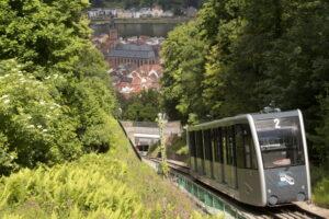 Heidelberg – Untere Bergbahn außer Betrieb!