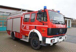 Ludwigshafen  – Mülltonnenbrand in der Schillerstraße