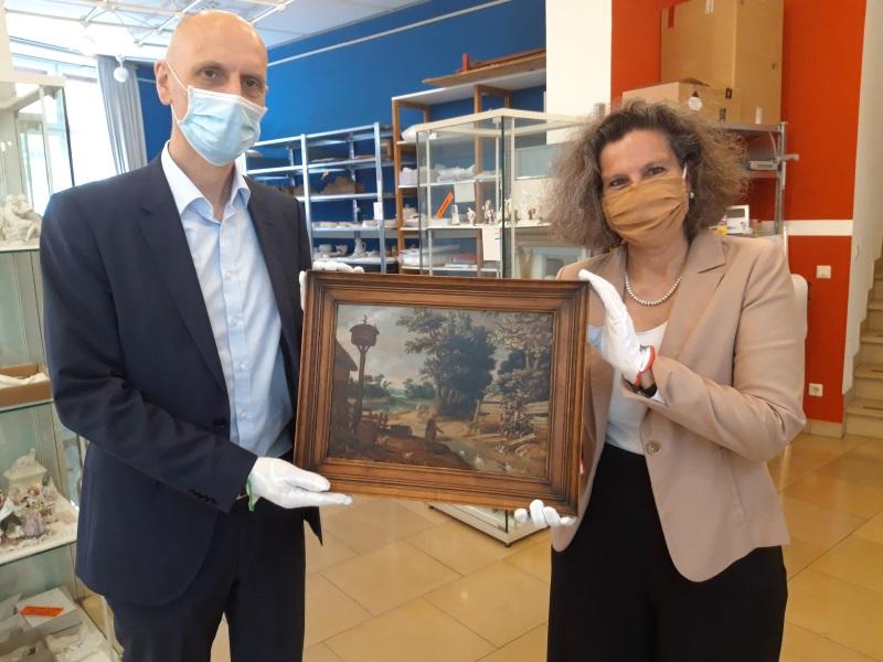 Frankenthal – Erkenbert-Museum:Altertumsverein erwirbt Gemälde des Frankenthaler Malers Urselincx