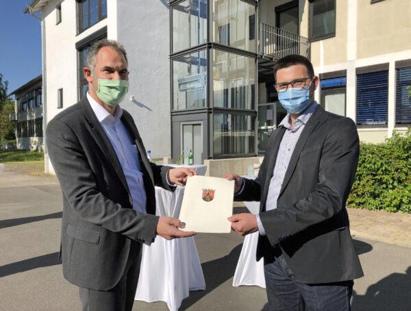 Landau – Neuer Amtsarzt: Dr. med. Dominik Siegler verstärkt Gesundheitsamt