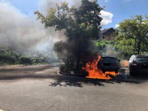 Neustadt – Nachtrag zum Fahrzeugbrand in der Landwehrstraße