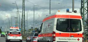 Frankenthal – Unfall am Kanal mit Verletzten