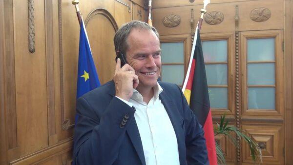 """Heidelberg – Weltweite Initiative """"Bürgermeister für den Frieden"""" am 8. Juli 2020: Oberbürgermeister Prof. Dr. Eckart Würzner ist im Namen Heidelbergs dabei!"""