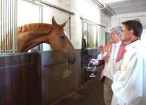 Mannheim – Pferdesegnungsgottesdienst am 5. Juli mit Dekan Jung beim Mannheimer Reiter-Verein