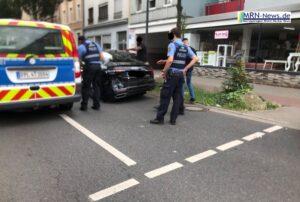 Ludwigshafen – NACHTRAG – Unfall mit Straßenbahn Ecke Kaiser -Wilhelm-Straße / Heinigstraße
