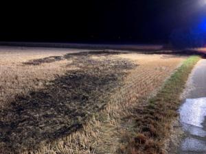 Worms – Ackerflächen in Brand