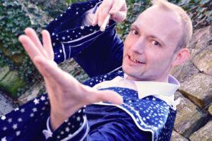 Heidelberg – Neue Kinderzaubershow LIVE im Gasthof Klostergarten am  26. Juli um15 Uhr & 17 Uhr!