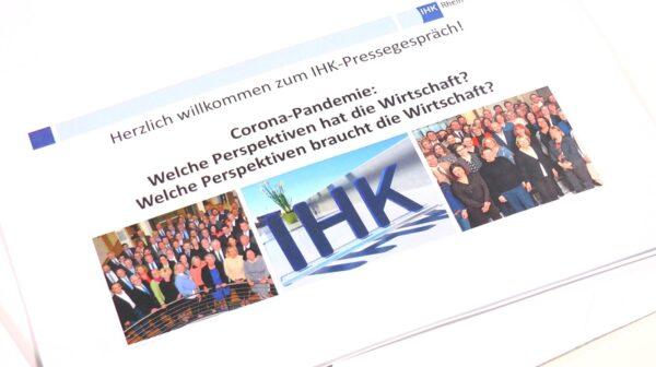 Lichtblicke und Herausforderungen für die Wirtschaft in Corona-Zeiten – IHK Rhein-Neckar (Video)
