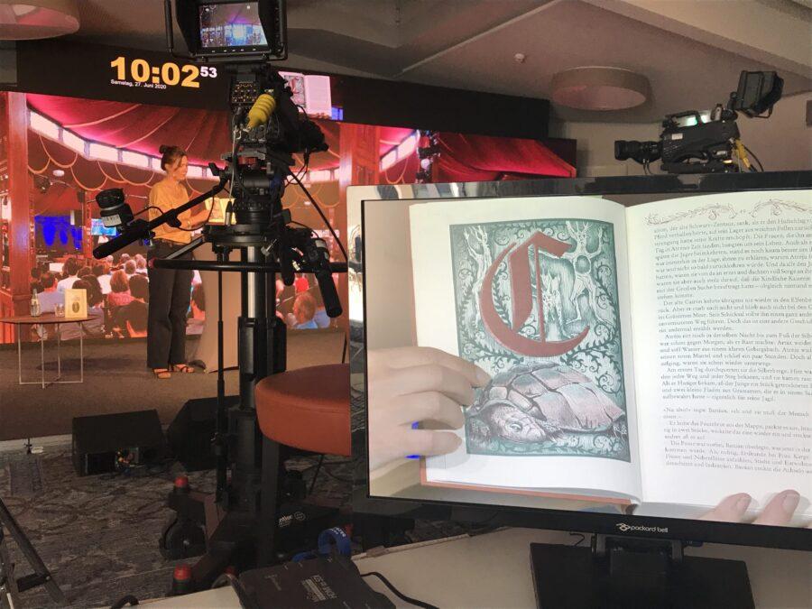 """Heidelberg – """"Heidelberger Literaturtage"""" 2020 gelungen über digitale Bühne gegangen!  Rund 2.000 Literaturbegeisterte weltweit verfolgten das fünftägige Online-Festival im Livestream"""