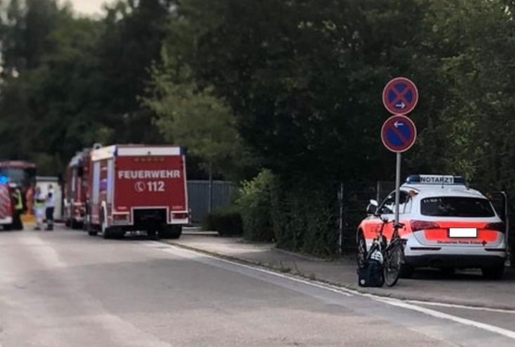 Ludwigshafen – Erstmeldung: Chlorgasaustritt am Willersinnbad! Feuerwehr im Großeinsatz