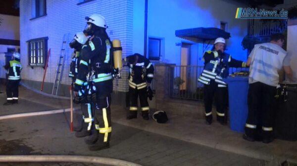 Landkreis Bad Dürkheim – VIDEO – Wohnhausbrand in Kallstadt