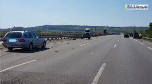 Ludwigshafen / Grünstadt – AKTUELL – Nach Vollsperrung immer noch Teilsperrung der A6