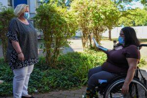 Heidelberg – Pflegeeinrichtungen während der Corona-Pandemie: Barrierefrei durch die Krise!