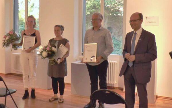 Frankenthal – VIDEO – Verleihung des Perron-Kunstpreises für Porzellan – Sebastian Scheid erhält Hauptpreis – Isa Schreiber und Catherine Sanke Förderpreise