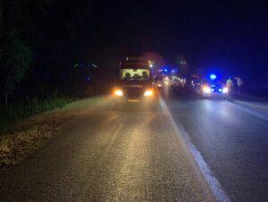 Dannstadt-Schauernheim – PKW Brand und schwerer Unfall auf der A 61 bescheren Feuerwehrleuten der VG Dannstadt-Schauernheim eine lange Nacht – Feuerwehr rügt fehlende Rettungsgasse!