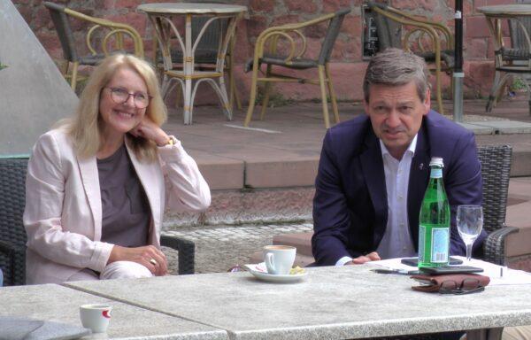 Ludwigshafen – Marion Schneid und Christian Baldauf auf Sommertour durch Ludwigshafen – Gespräche mit Bürgern, Unternehmen, Vereinen und Institutionen – VIDEO