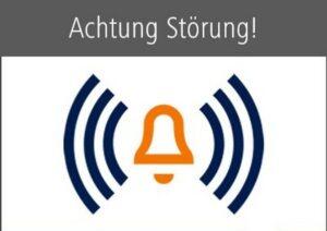 Mannheim – Erhebliche Verspätungen im Fernverkehr der DB auf der Bahnstrecke Mannheim – Fulda – Erfurt wegen Großbrand
