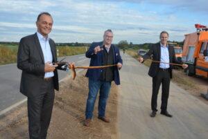 Germersheim – Radweg Zeiskam – Hochstadt offiziell eingeweiht – Landräte Brechtel und Seefeldt: Radwege sind wichtig für Klimaschutz, Verkehrssicherheit und Tourismus