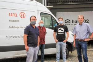 Heidelberg – halle02 spendet aus Erlösen ihrer Maskenaktion über 1.500 EUR an den Heidelberger Tafel e.V.