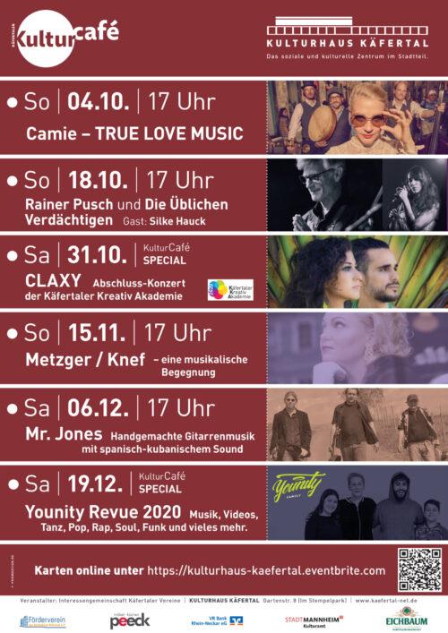 Mannheim – Kultur Café mit neuem Programm!