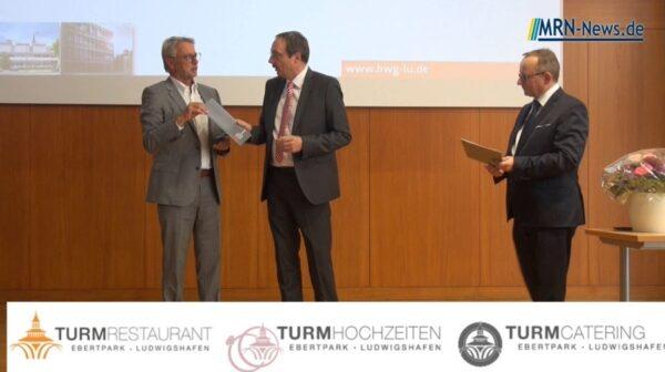 Ludwigshafen – VIDEO Nachtrag – Hochschulmedaille der HWG Lu für Michael Cordier