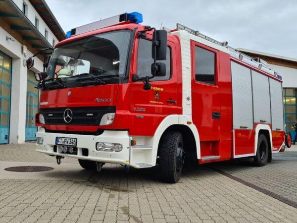 Frankenthal – Stärkung des Stützpunktes Südwest in FT-Eppstein – Offizielle Übergabe eines neuen Fahrzeugs sowie einer neuen Leichtbauhalle