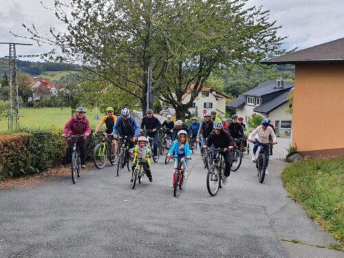 """Weinheim – """"Ripper radelt"""" mit Botschaft:  Weinheimer Kuriosum beim Stadtradeln: Odenwald-Dorf bricht alle Rekorde"""