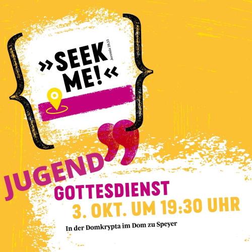 Speyer – Seekme! – Jugendgottdienst – Neues Gottesdienstformat für junge Menschen in der Domkrypta