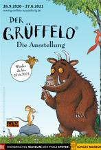 Speyer – Mit dem Grüffelo den Wald entdecken! Ab sofort wieder da: Die Famlien-Ausstellung im Historischen Museum der Pfalz