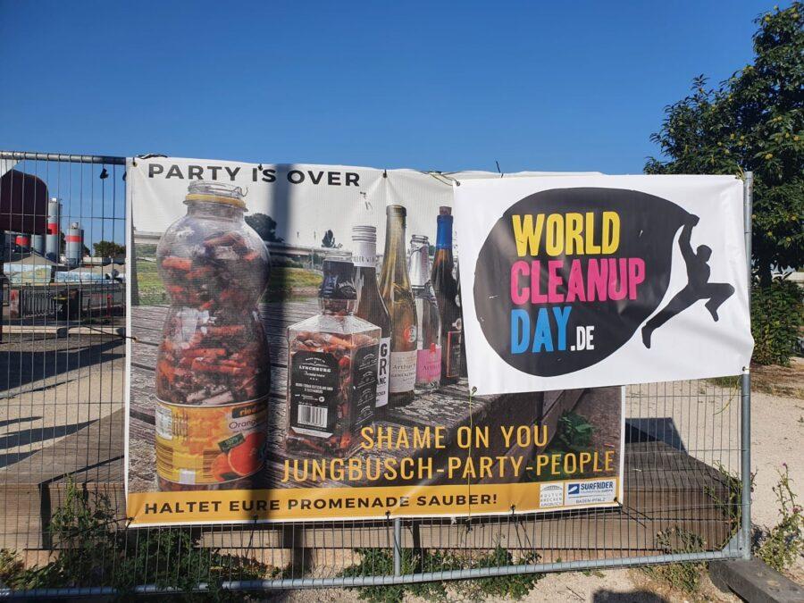 Mannheim – Wirtschaftsjunioren Mannheim-Ludwigshafen beteiligen sich am World Clean Up Day und räumen im Jungbusch auf