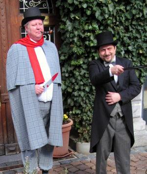 Weinheim – Tod im Gerberbachviertel:  Krimiführung durch die Weinheimer Altstadt  am 10. Oktober  – Stadtführer werden zu historischen Detektiven