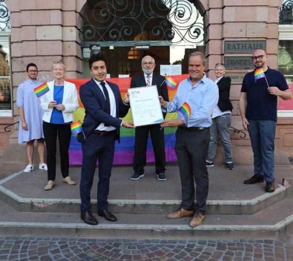 """Heidelberg – Stadt ist neues Mitglied des """"Rainbow Cities Network"""" – Einsatz für familiäre, sexuelle und geschlechtliche Vielfalt"""