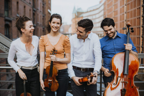 Bensheim – Kunstfreunde Bensheim: Am 7. November tritt das Aris Quartett mit der Klarinettistin Florentine Simpfendörfer im Parktheater auf / Zwei Konzerte um 17 und um 20 Uhr