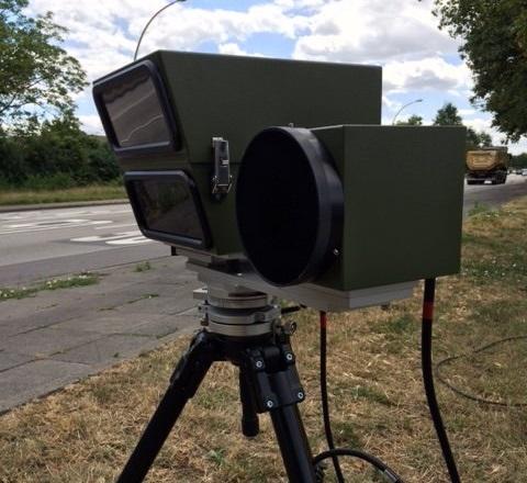 Rhein-Pfalz-Kreis –  Laserkontrolle der Polizei in Mutterstadt